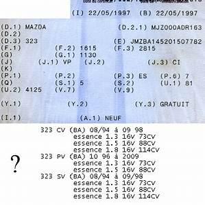 Code Moteur Carte Grise : topic officiel mazda 323 ba 1994 1998 page 195 323 mazda forum marques ~ Maxctalentgroup.com Avis de Voitures