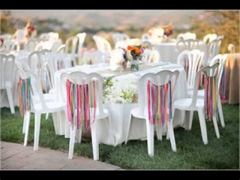easy diy ideas  backyard wedding decorations youtube