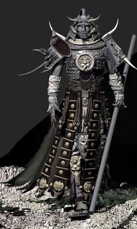 Dark Spear Samurai By Lordthursday On Deviantart