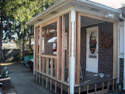 enclosing a porch diy images