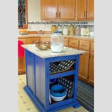 Make The Best Of Things Nightstands Turned Kitchen Island