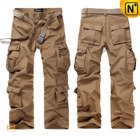 boys black hiking boots belted cargo trousers for cw140285
