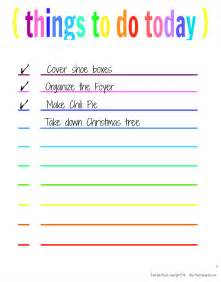 6 best images of things to do template printable things to do list template printable things