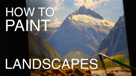 How To Paint Landscapes Episode Six  New Zealand