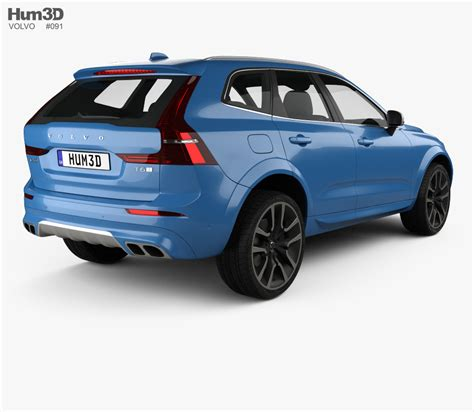 volvo xc60 zubehör volvo xc60 r design 2017 3d model vehicles on hum3d