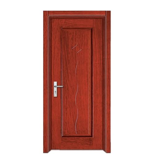 Residential Cabinets by Rectangular S Shaped Lines Wooden Flush Door