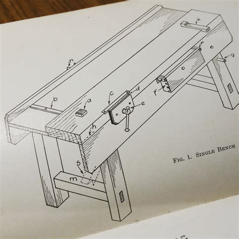classic joiners workbench