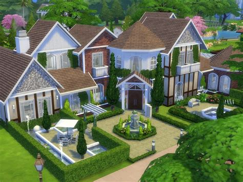 ModTheSims Chesterfield No CC Sims building Sims
