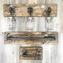 Rustic Bathroom Wall Lights by Best 25 Rustic Vanity Lights Ideas On Vanity
