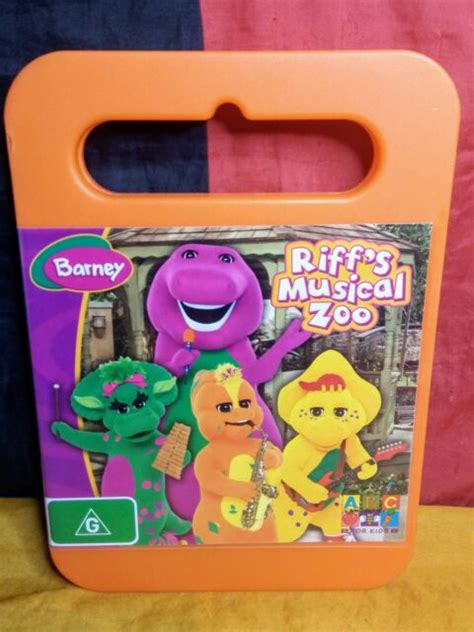 The elephant song is an original barney song that first appeared in camera safari. Barney: Riff's Musical Zoo (DVD, 2008) for sale online | eBay