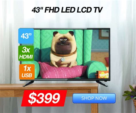 Brand New Tvs Under $400!  Deals And Coupons  Best Bargains