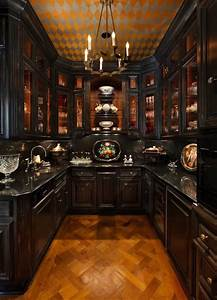 23, Classy, Gothic, Kitchen, And, Dining, Room, Designs