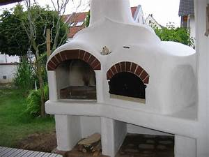 steinofen mit grill kleinster mobiler gasgrill With französischer balkon mit pizza steinofen garten
