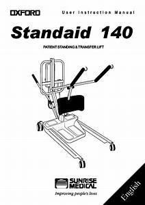 Oxford Standaid 140 User Instruction Manual Issue 4 March