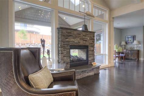 mascord plan   willard double sided fireplace