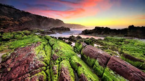 landscape, Sunset, Horizon, Stones, Nature, Mountain, Sea ...