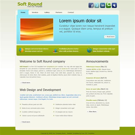 template  soft   images css templates