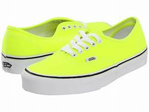 GET IT GIRL STYLE Neon Yellow Vans