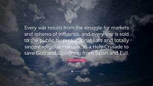 Robert Anton Wi... War Result Quotes