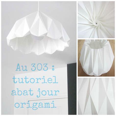abat jour origami abat jour origami diy r 233 alisations d 233 co au 303 origami