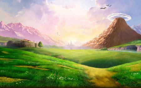 landscape  anime background wallpapers  desktop