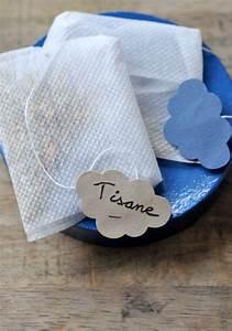 Sachets De Thé À Remplir : c 39 est moi qui l 39 ai fait cadeaux gourmands sachets de tisane de th maison ou presque ~ Melissatoandfro.com Idées de Décoration