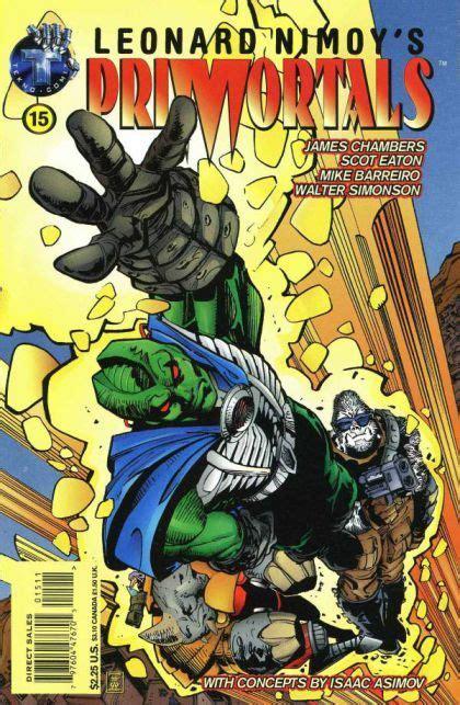 leonard nimoy comic book tekno comics leonard nimoy s primortals vol 1 15