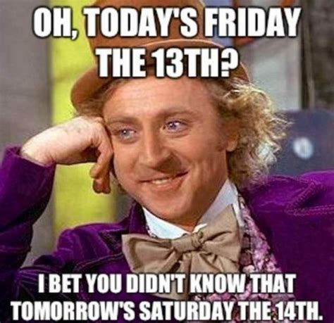 Friday The 13 Meme - 13 friday the 13th memes and ways to celebrate video