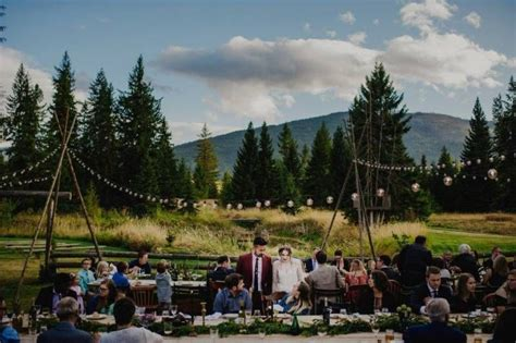 picture perfect wilderness wedding calgary wedding