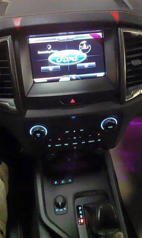 ford ranger wildtrak exterior  interior spied