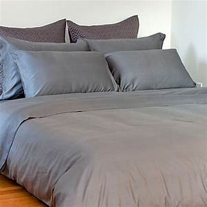 ami mckay pure collection pure bamboo pewter queen sheet With bamboo cotton sheets bed bath beyond