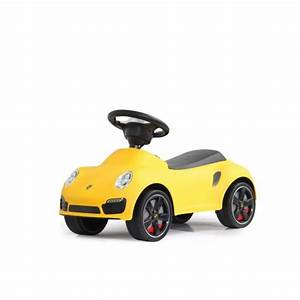Voiture Porteur Bébé : porteur petite voiture pousseur b b porsche 911 jaune achat vente porteur pousseur ~ Teatrodelosmanantiales.com Idées de Décoration