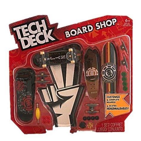 Tech Deck Board Shop 4 X Element Skateboards