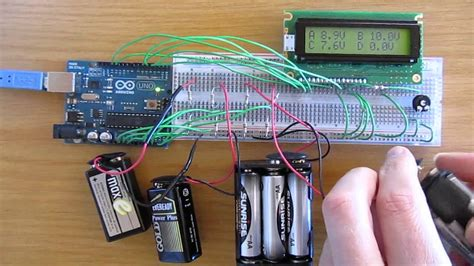 Arduino Channel Voltmeter With Lcd Youtube