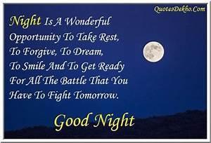 Good Night Messages For Facebook | www.pixshark.com ...
