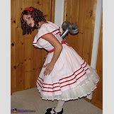 Homemade Broken Doll Costume | 508 x 631 jpeg 200kB