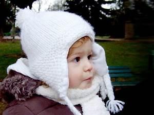 Cache Oreille Enfant : mod le tricot bonnet cache oreille ~ Teatrodelosmanantiales.com Idées de Décoration