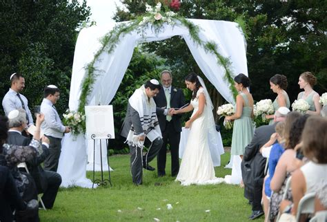 Jewish Wedding : Brittany & Andrew's Jewish Southern Style Wedding