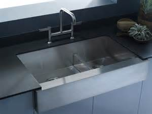 kohler canada vault smart divide 174 offset apron front kitchen sink kitchen kitchen new