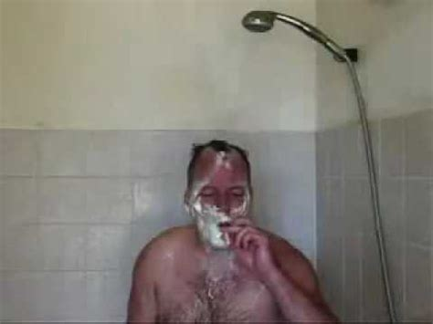 How To Smoke In The Shower - sings in shower