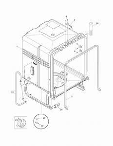 Frigidaire Model Fgbd2438pf0a Dishwasher Genuine Parts