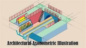 Making An Architectural Axonometric Diagram Using Adobe