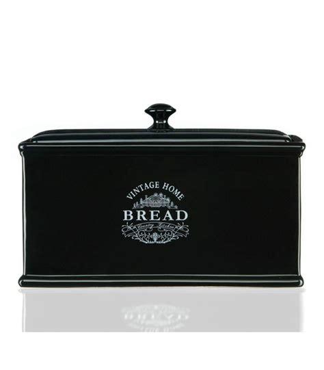 rangement torchons cuisine boîte à en céramique noir vintage wadiga com