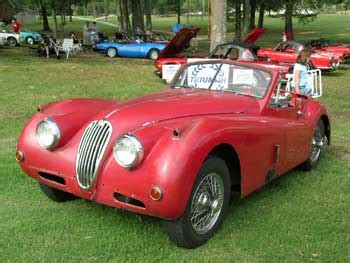 Jim Coleman Jaguar by Sports Car Club Of Ltd Car Show