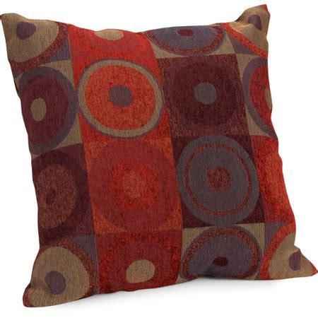 throw pillows at walmart hometrends circles and squares decorative pillow walmart
