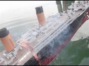 Lego Titanic Sinking In Real Water :: VideoLike