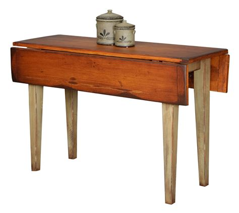 small side tables narrow country farm drop leaf table farmhouse and cottage