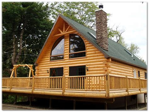 Wrap Around Porch Log Cabin Plans Listed In: Rustics