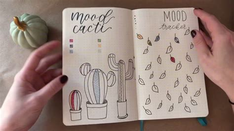 Bullet Mood Tracker Journal Ideas