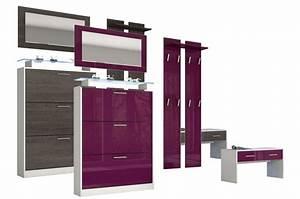 Combiné de meuble entrée design Cbc Meubles